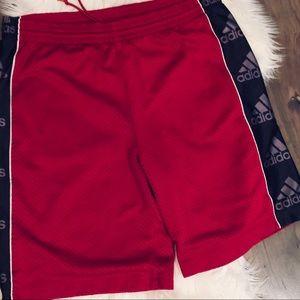Adidas VTG Drawstring Athletic Shorts